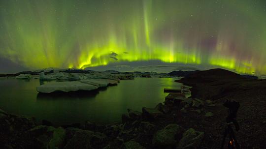 Very much northern lights.