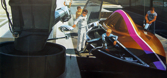 Syd Mead - United States Steel International