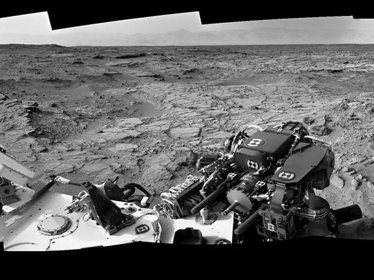 Mars rocks. Geddit?