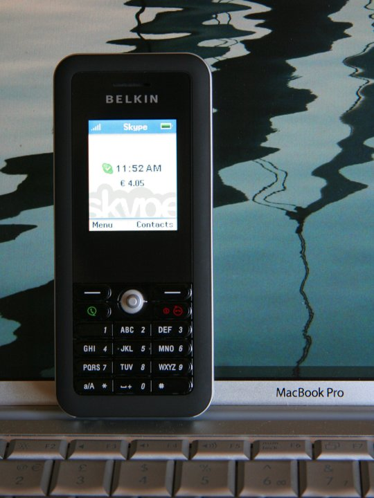 Belkin Wi-Fi Skype Phone VOIP Armageddon Device Thingy