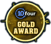 Ten Four Maps gold award