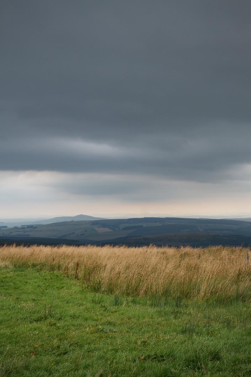 Dark skies over Scotland